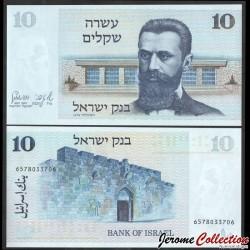 ISRAEL - Billet de 10 Shekel - Dr. Theodor Herzl - 1978 P45a