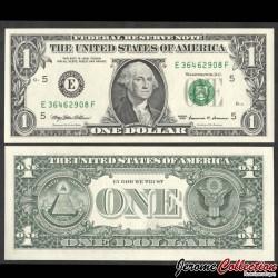 ETATS UNIS / USA - Billet de 1 DOLLAR - E(5) Richmond - 1999 P504aE