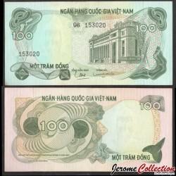 SUD VIETNAM - Billet de 100 Dong - 1970 P26a