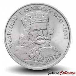 POLOGNE - PIECE de 100 Zlotych - Ladislas Ier de Pologne - 1986 Y#160