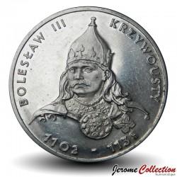 POLOGNE - PIECE de 50 Zlotych - Les rois de Pologne: Boleslas III Bouche-Torse - 1982 Y#133