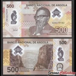 ANGOLA - Billet de 500 Escudos - Dr. António Agostinho Neto - Polymer - 2020 P161a