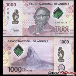 ANGOLA - Billet de 1000 Escudos - Dr. António Agostinho Neto - Polymer - 2020 P162a
