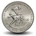 POLOGNE - PIECE de 500 Zlotych - Seconde guerre mondiale - 1989 Y#185