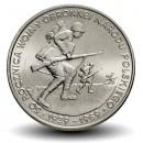 POLOGNE - PIECE de 500 Zlotych - Seconde guerre mondiale - 1989