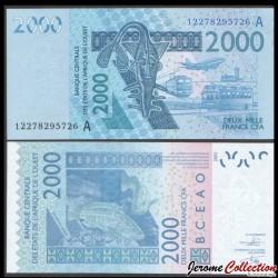 BCEAO - COTE D'IVOIRE - Billet de 2000 Francs - 2003 / 2012