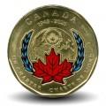 CANADA - PIECE de 1 Dollar - Chartre de l'ONU colorée - 2020 Km#new