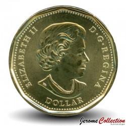 CANADA - PIECE de 1 Dollar - Chartre de l'ONU colorée - 2020