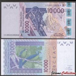 BCEAO - COTE D'IVOIRE - Billet de 10000 Francs - 2003 / 2011