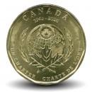 CANADA - PIECE de 1 Dollar - Chartre de l'ONU - 2020
