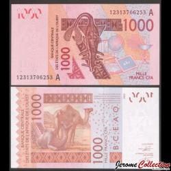 BCEAO - COTE D'IVOIRE - Billet de 1000 Francs - 2003 / 2012 P115Aj