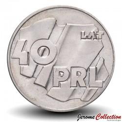 POLOGNE - PIECE de 100 Zlotych - 40 ans de la République populaire de Pologne - 1984 Y#151