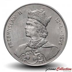 POLOGNE - PIECE de 100 Zlotych - Prince Przemysł II - 1985 Y#155