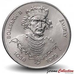 POLOGNE - PIECE de 50 Zlotych - Les rois de Pologne: Boleslas II - 1981 Y#124