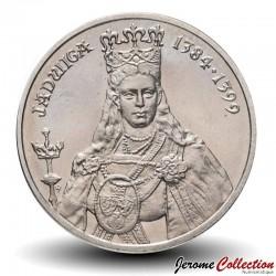 POLOGNE - PIECE de 100 Zlotych - Hedwige Ire de Pologne - 1988 Y#183