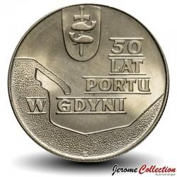 POLOGNE - PIECE de 10 zlotych - Port de Gdansk - 1972 Y#65