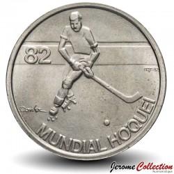 PORTUGAL - PIECE de 5 Escudos - Mondial de hockey en roller - 1983 Km#615