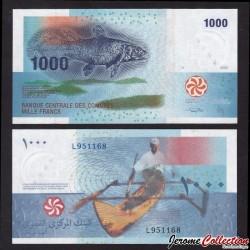 COMORES - Billet de 1000 francs - 2005 P16b