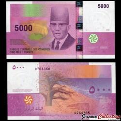 COMORES - Billet de 5000 francs - 2006 P18b