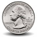 ETATS UNIS / USA - PIECE de 25 Cents - America the Beautiful - Parc Marsh-Billings-Rockefeller - Vermont - 2020 - D Km#New