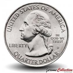 ETATS UNIS / USA - PIECE de 25 Cents - America the Beautiful - Parc Marsh-Billings-Rockefeller - Vermont - 2020 - D
