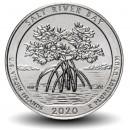 ETATS UNIS / USA - PIECE de 25 Cents - America the Beautiful - Salt River Bay - Îles Vierges des États-Unis - 2020 - P