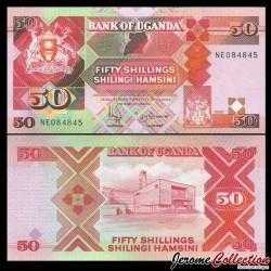 OUGANDA - Billet de 5000 Shillings - 1986