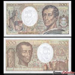 FRANCE - BILLET de 200 Francs - Montesquieu - 1992 P155e