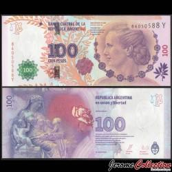 ARGENTINE - Billet de 100 Pesos - Eva Perón (Evita) - 2015 P358b3