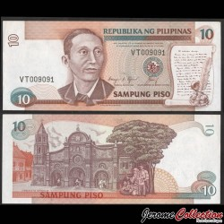 PHILIPPINES - Billet de 10 Piso - Apolinario Mabini - 1994 P169c