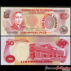 PHILIPPINES - Billet de 50 Piso - Sergio Osmeña - 1978 P163c
