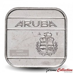 ARUBA - PIECE de 50 cents - Reine Beatrix - 1996
