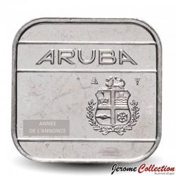 ARUBA - PIECE de 50 cents - Reine Beatrix - 1995