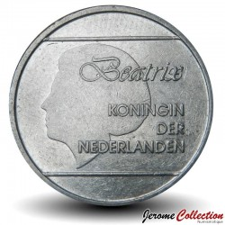 ARUBA - PIECE de 1 FLORIN - Reine Beatrix - 1989 Km#5