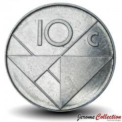 ARUBA - PIECE de 10 Cents - Reine Beatrix - 1990 Km#2
