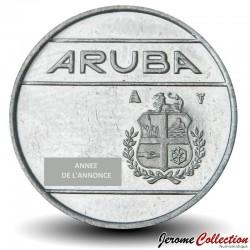 ARUBA - PIECE de 25 Cents - Reine Beatrix - 2001