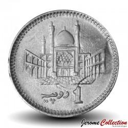 PAKISTAN - PIECE de 1 Roupie - Muhammad Ali Jinnah - 2019 Km#67