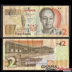 GHANA - Billet de 2 Cedis - 2015 P37Ad