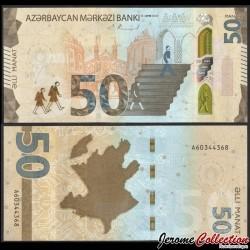 AZERBAIDJAN - Billet de 50 Manat - 2020 P35a