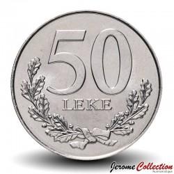 ALBANIE - PIECE de 50 LEKE - Le roi Genthios à cheval - 2000