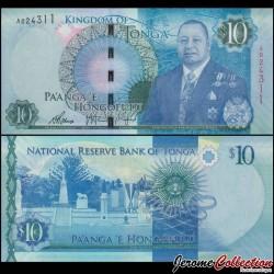 TONGA - Billet de 10 Pa'anga - Statues - 2015 P46a