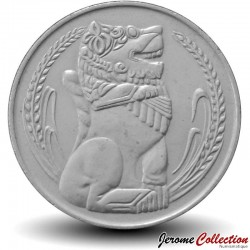 SINGAPOUR - PIECE de 1 Dollar - Lion stylisé - 1969 Km#6