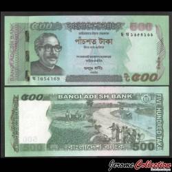 BANGLADESH - Billet de 500 Taka - Assemblée nationale - 2020 P58j