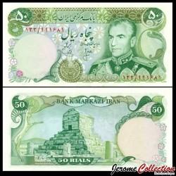 IRAN - Billet de 50 Rials - Mausolée de Cyrus - 1974 P101b