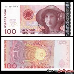 NORVEGE - Billet de 50 Kroner - Kirsten Flagstad - 2006 P49c