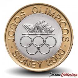 PORTUGAL - PIECE de 200 Escudos - Bimétal - Jeux olympiques - 2000