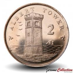 ILE DE MAN - PIECE de 2 Pence - Albert Tower - 2016