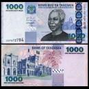 TANZANIE - Billet de 1000 Shillings - Julius Kambarage Nyerere - 2003