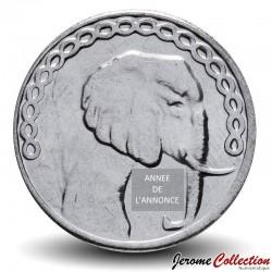 ALGÉRIE - PIECE de 5 Dinars - Elephant - 2012 Km#123