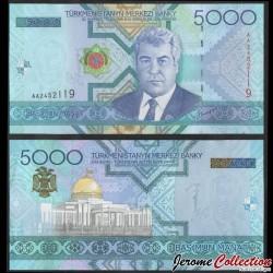 TURKMENISTAN - Billet de 5000 Manat - 2005 P21a